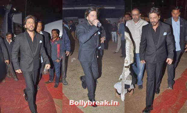 Shah Rukh Khan, Bollywood Celebs Style Check at Mumbai Police Umang 2014