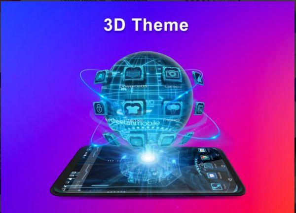 Aplikasi Launcher Terbaik Tanpa Iklan CM Launcher 3D  Apk