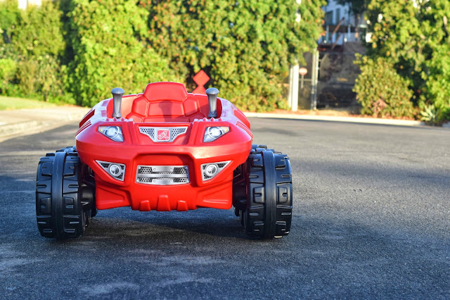 Step2 Spin & Go Xtreme Cruiser, Step2 Xtreme Cruiser, Step2 motorized car, Step2 Powerwheels