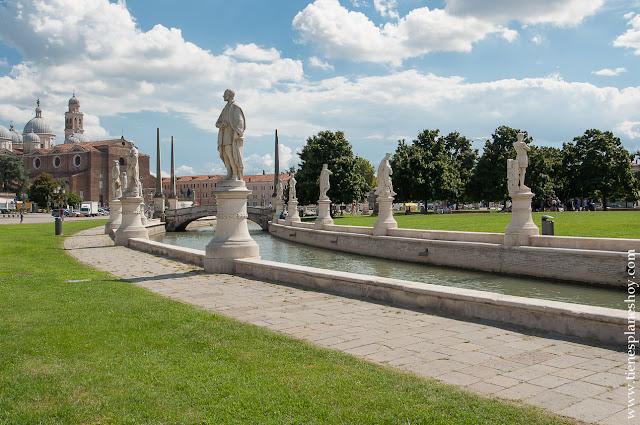 Pratto della Valle plaza grande Italia ciudades que visitar Padova