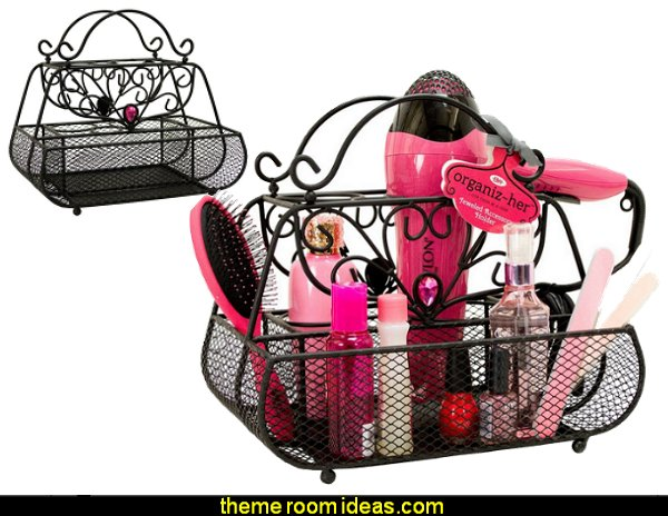 Jeweled Purse Shaped Hair Styling Caddy, Organiz-Her Collection