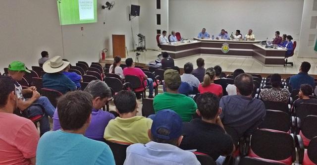 Audiência Pública esclarece dúvidas dos munícipes sobre o Plano Diretor