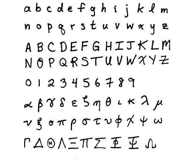 Resourceaholic: Handwriting