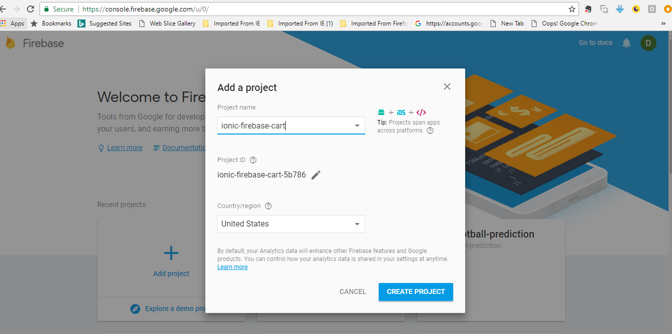 Building an Ionic 3 Shopping Cart App with Firebase Realtime