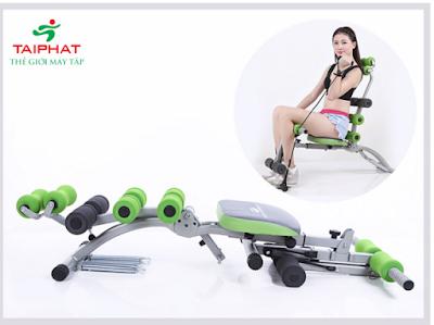 Máy tập cơ bụng đa năng và tính năng hiệu quả.