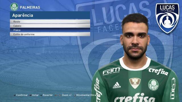 Bruno Henrique Face PES 2017