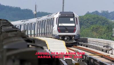 Jadual Perjalanan dan Harga Tiket MRT Malaysia 2019