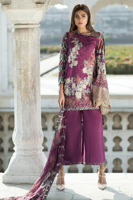 Mausummery pakistani summer lawn collection 2017