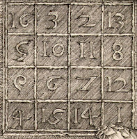 Magic Square of Dürer's Melencolia I first state