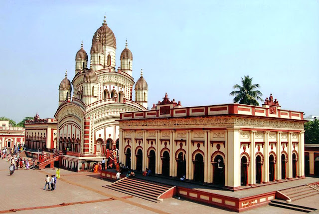Dakshineswar temple in West Bengal