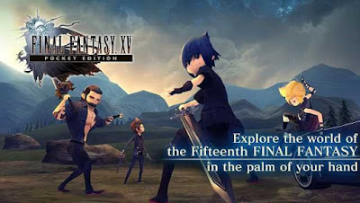Final Fantasy XV Pocket Edition MOD Apk Unlocked + DATA Terbaru 2018