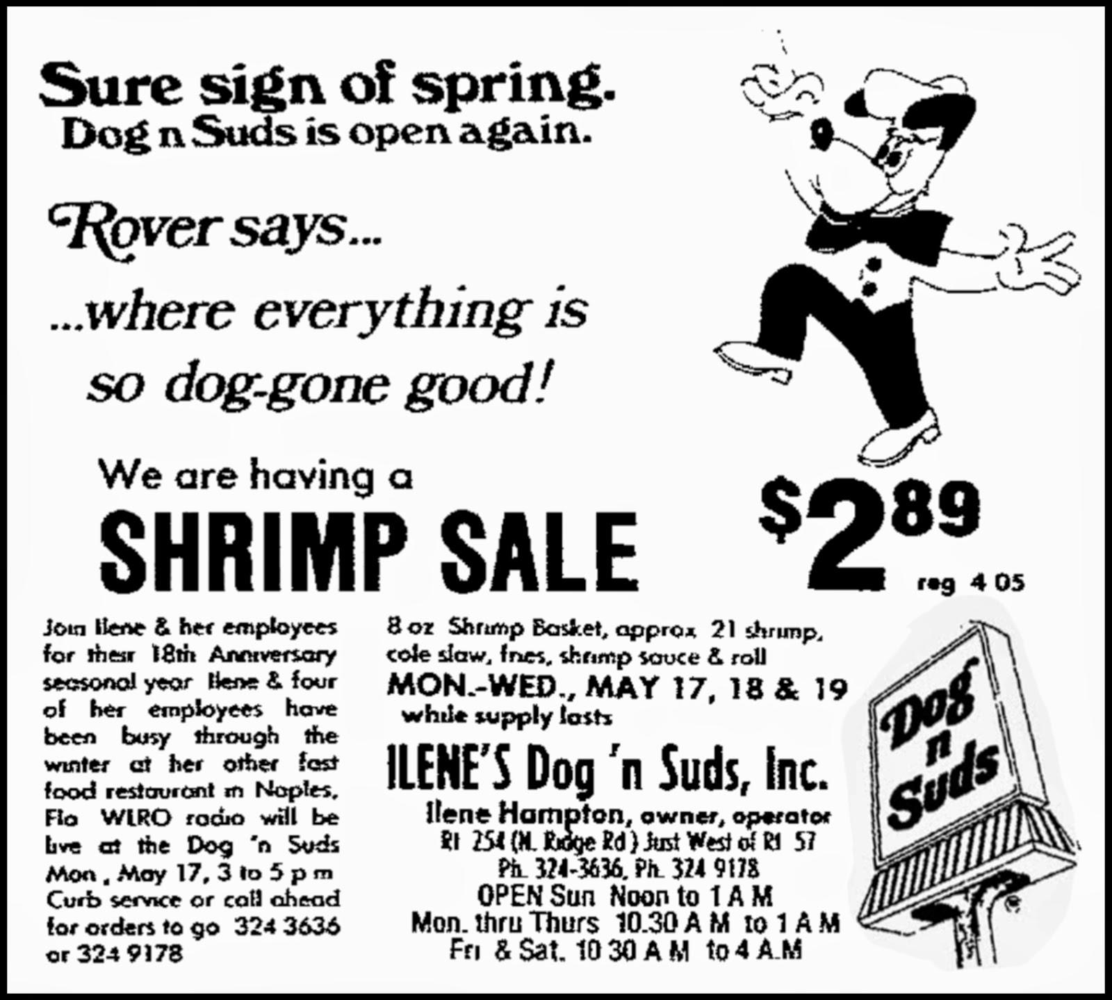 Brady's Bunch of Lorain County Nostalgia: It's Dog 'n Suds