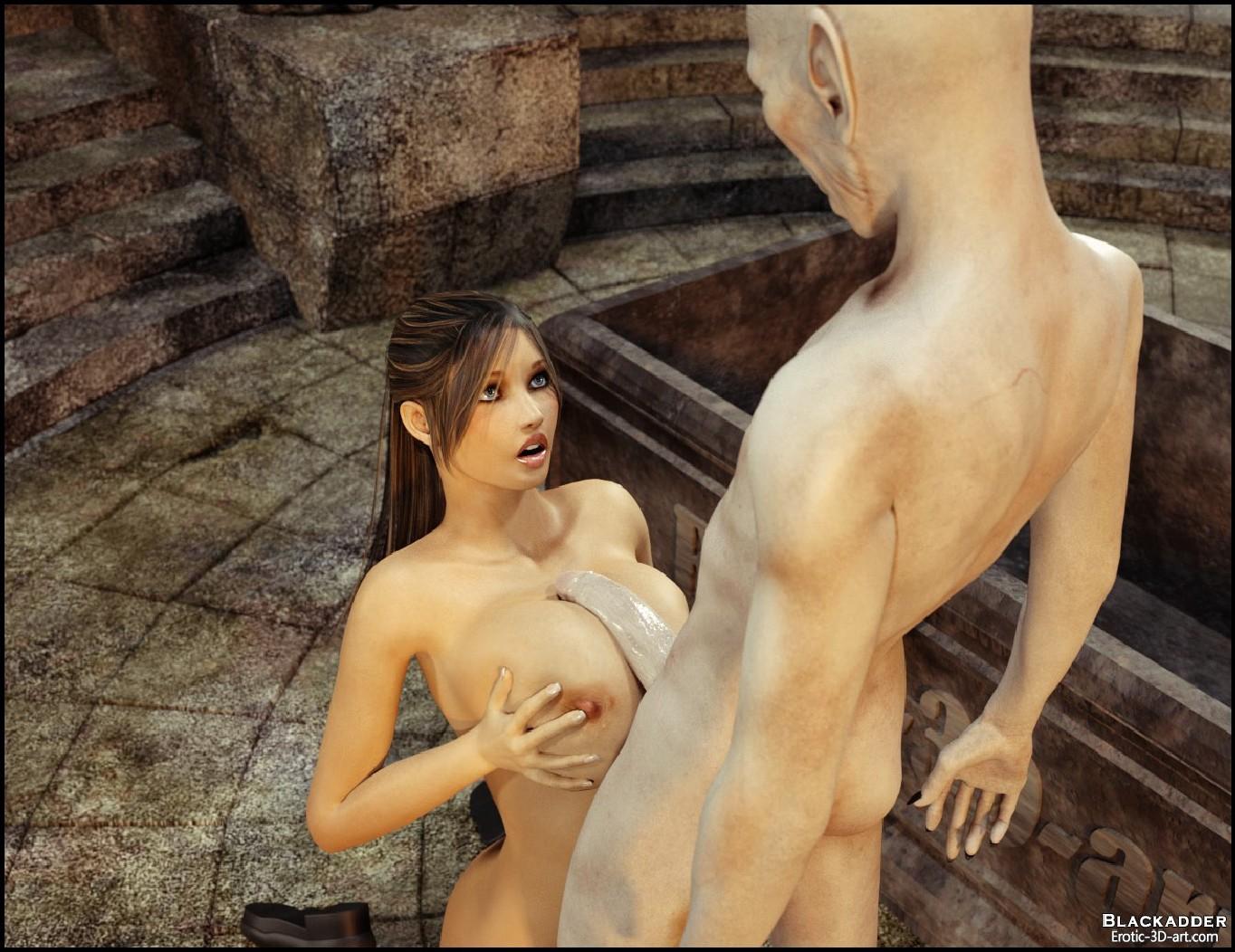 3d lara croft orgy and more tomb raider 8
