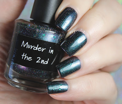 CrowsToes Nail Color Murder in the 2nd | Winter 2016