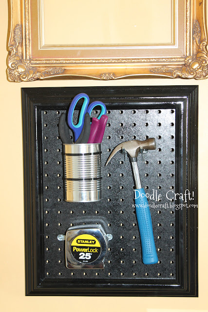 http://www.doodlecraftblog.com/2013/05/peg-board-shadow-box-tool-display-frame.html