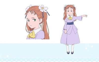 """Anunciados los diseños de personajes de """"Sayonara no Asa ni Yakusoku no Hana wo Kazarou"""