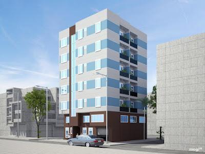 Phối cảnh dự án chung cư mini Từ Liêm