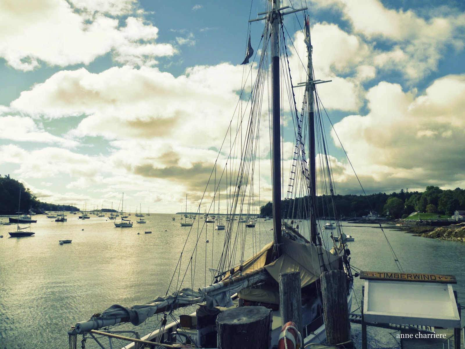 anne charriere voyage, new england, maine, travel photography,