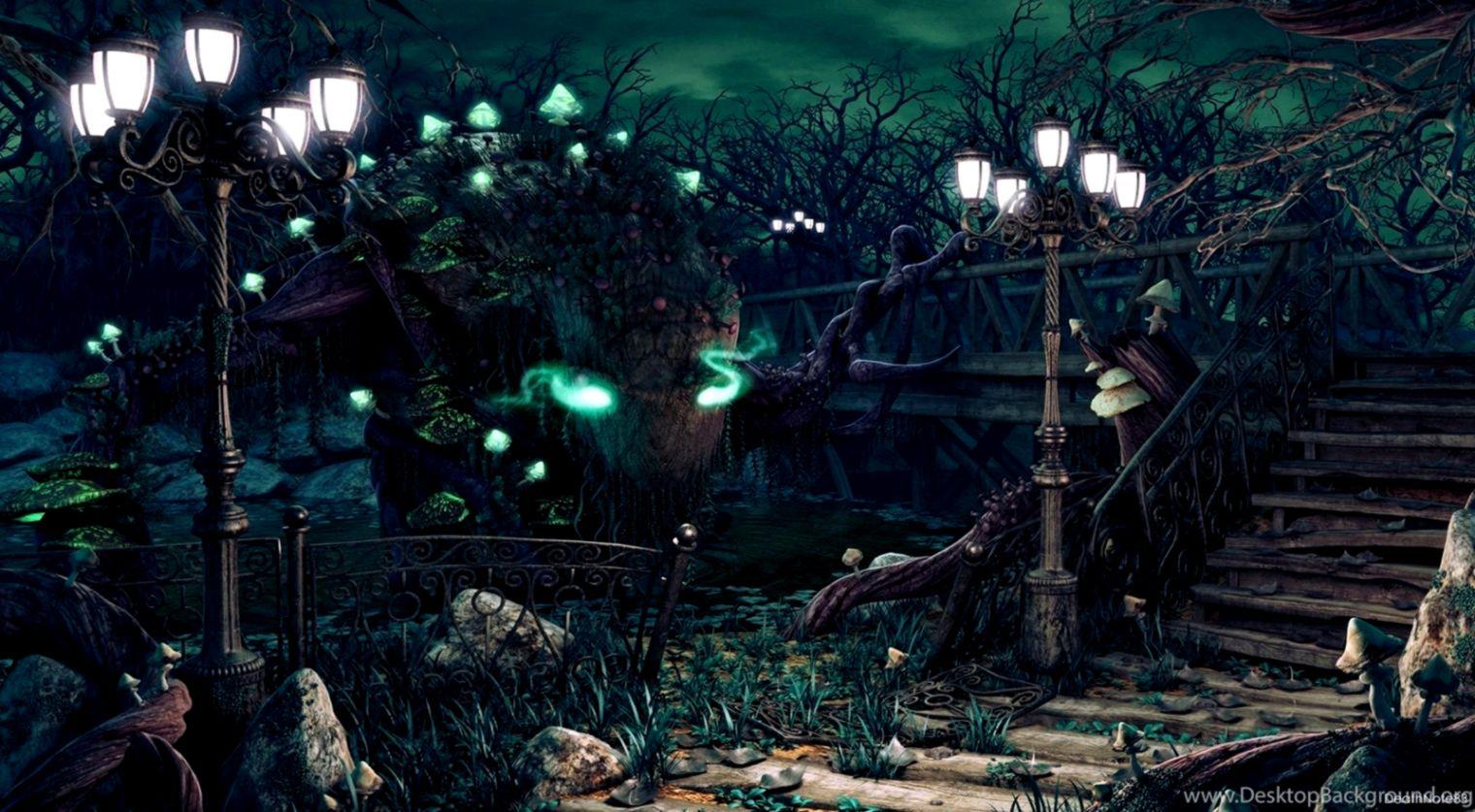 Dreamy Fantasy Forest Magic Artwork Wallpaper Net Wallpapers
