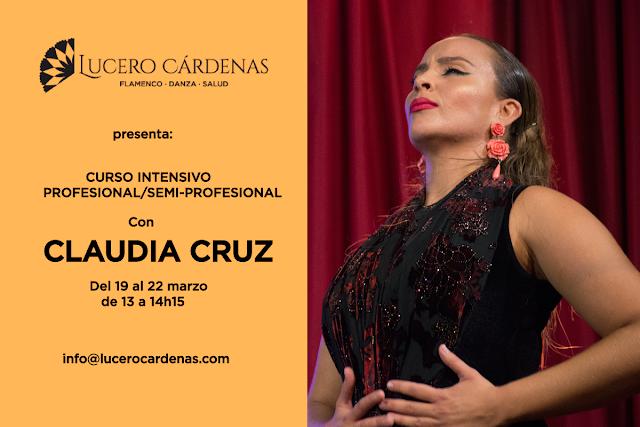 Curso intensivo flamenco claudia cruz barcelona