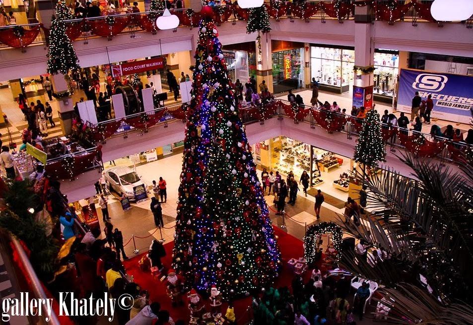 Photos Nairobi S Tallest Christmas Tree Magnificent