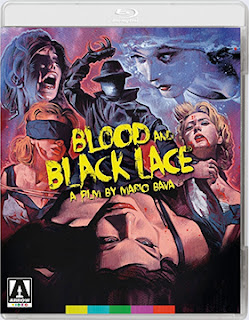 DVD & Blu-ray Release Report, Blood and Black Lace, Ralph Tribbey