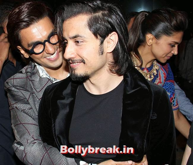 Ranveer Singh and Ali Zafar, Bollywood Actors at 59th Filmfare Pre Awards Party