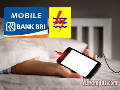 cara beli token listrik mobile banking bri