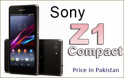 Though the sony xperia z1 compact price in pakistan