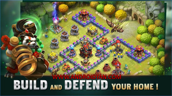 Free Download Clash Of Lords 2 Mod Apk v1.0.218 (Unlimited Money) Android Terbaru Latest Version 2017