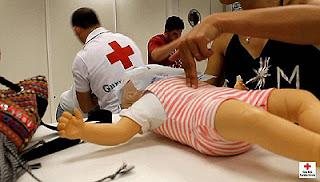 Primeros Auxilios Bebés y Niños Cruz Roja