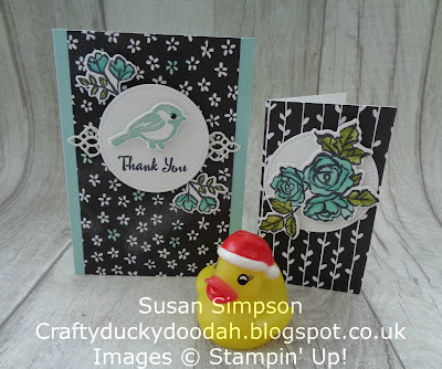 Craftyduckydoodah!, December 2017 Coffee & Cards Project, Petal Palete, Stampin' Up! UK Independent  Demonstrator Susan Simpson, Supplies available 24/7 from my online store,