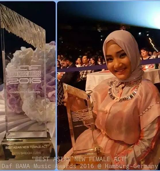 Fatin Bama Music Awards 2016 Fatin
