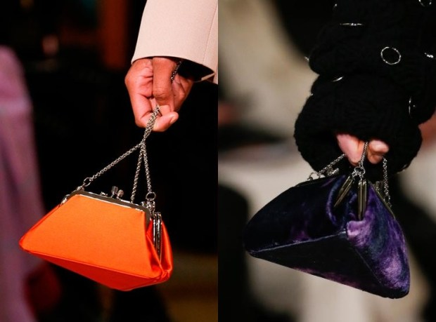 Fall-Winter 2018-2019 Women's Unusual Chain Handbags Fashion Trends