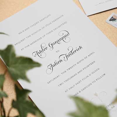 Real Card Studio Stunning Modern Engraved Wedding Invitation in – Traditional Engraved Wedding Invitations