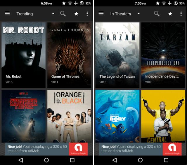 Screenshot Terrarium TV Android