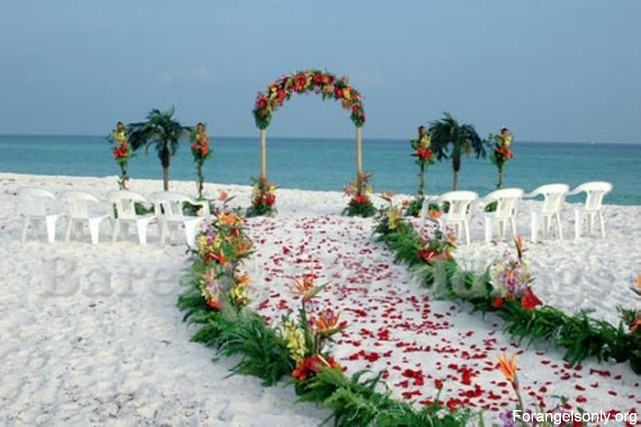 Fun Is Gud: [FAO] Beautiful Beach Wedding Decorations