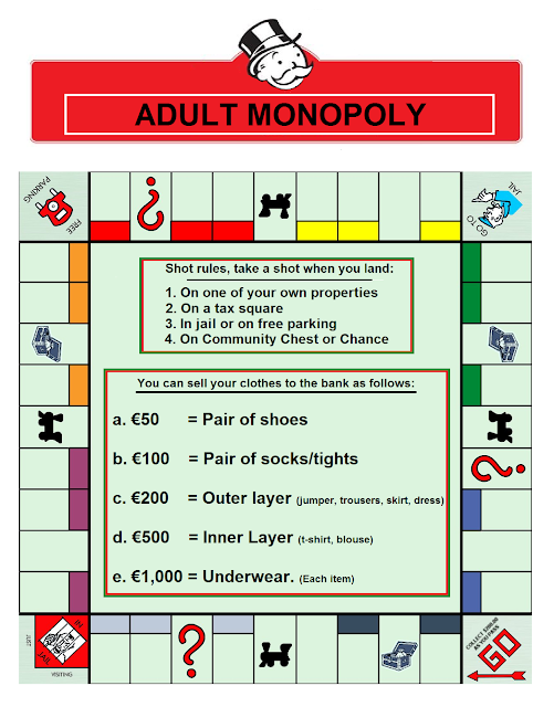 Adult Rules for Monopoly