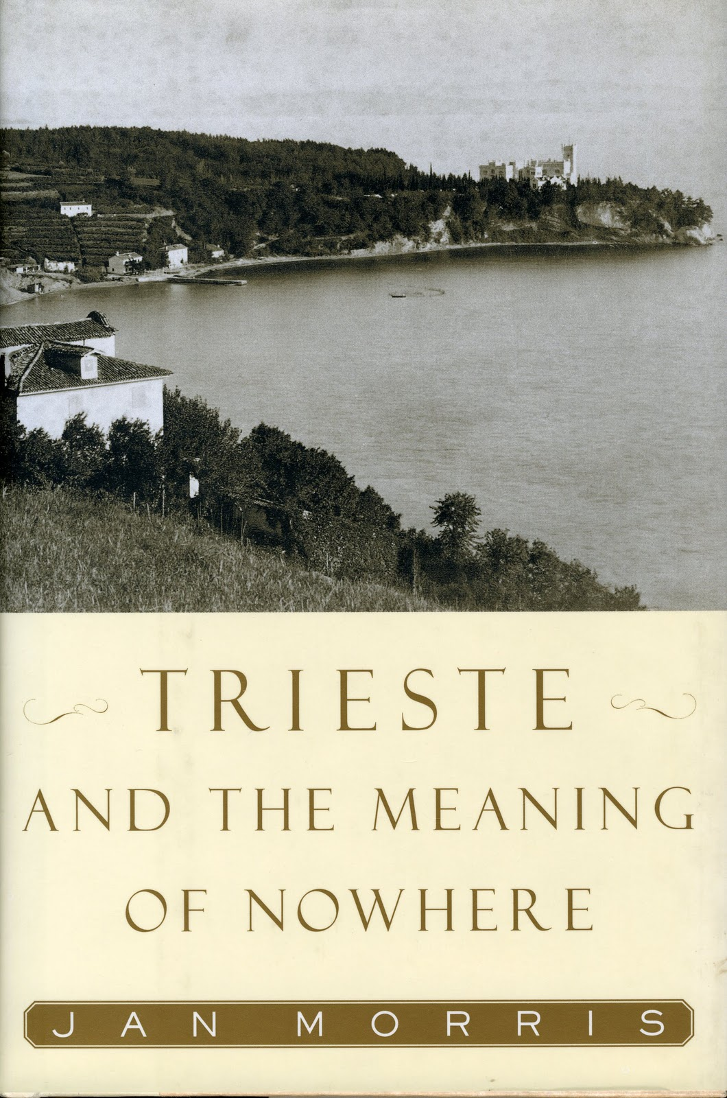 In her last book, Trieste and the Meaning of Nowhere, she writes: