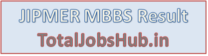 JIPMER MBBS Result 2016
