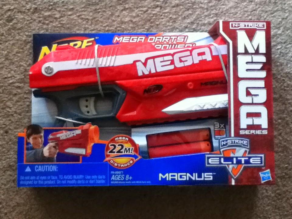Outback Nerf: Review: Nerf Mega Magnus (22m grey trigger)
