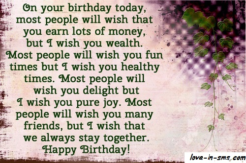 Think your best friends merit the very best friend birthday wishes? I do. That's why I offer only one type of birthday messages for friends: the best type.bday wishes