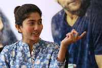 Sai Pallavi looks super cute in plain dress at her interview in Telugu about movie Fidaa ~ Exclusive Celebrities Galleries 021.JPG