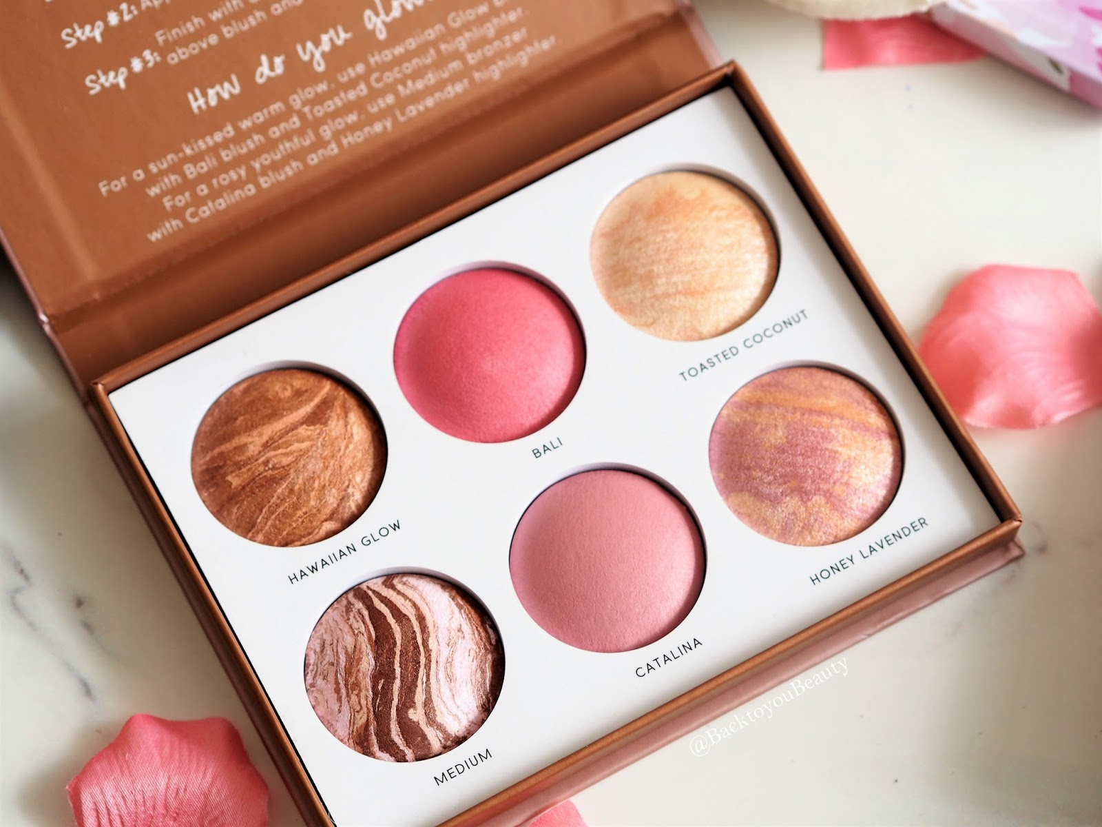 Cheek-to-Chic Blush Highlighter Bronzer palette