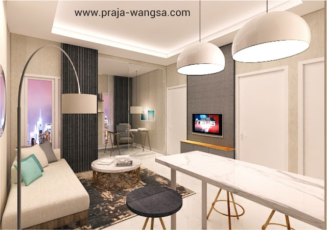 Interior Design Prajawangsa City Apartment