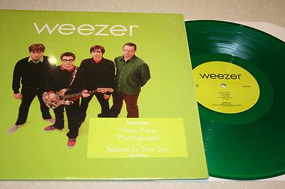Discos Perfectos Weezer Green Album 2001