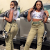 See what a female NYSC member wore that has got people talking (Photos)