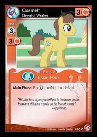 My Little Pony Caramel, Cheerful Worker Absolute Discord CCG Card