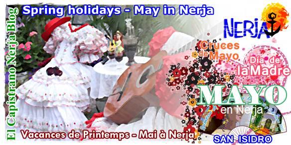 Celebre las Cruces de Mayo el Día de la Madre y San Isidro en El Capistrano Nerja Malaga Costa del Sol