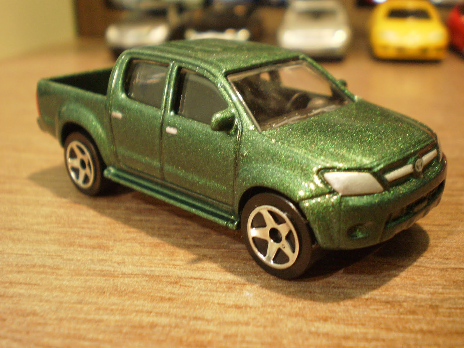 1 64 Die Cast Toy Cars Majorette Toyota Hilux
